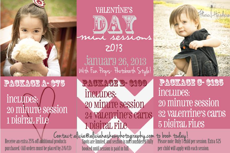Valentine's Day Mini Sessions 2013