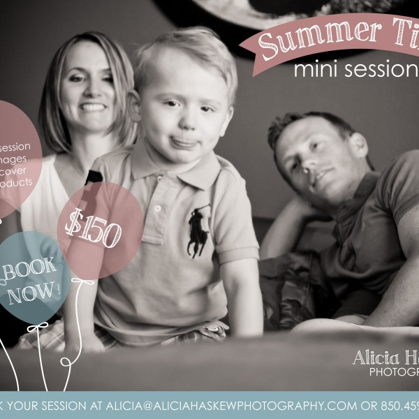 Summer Mini Sessions