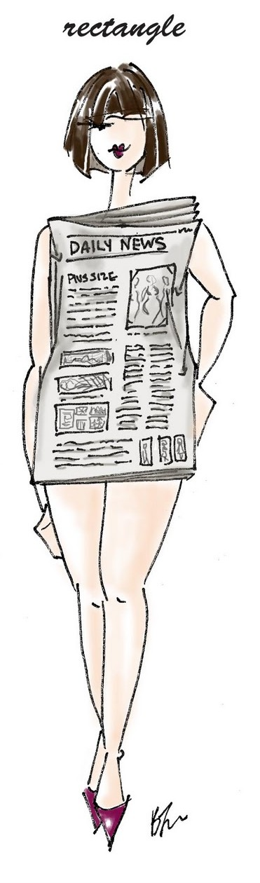Fashion Friday | Dressing for Your Body Type | Rectangle