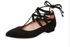 Fashion Friday | Ballet Flats in the Winter