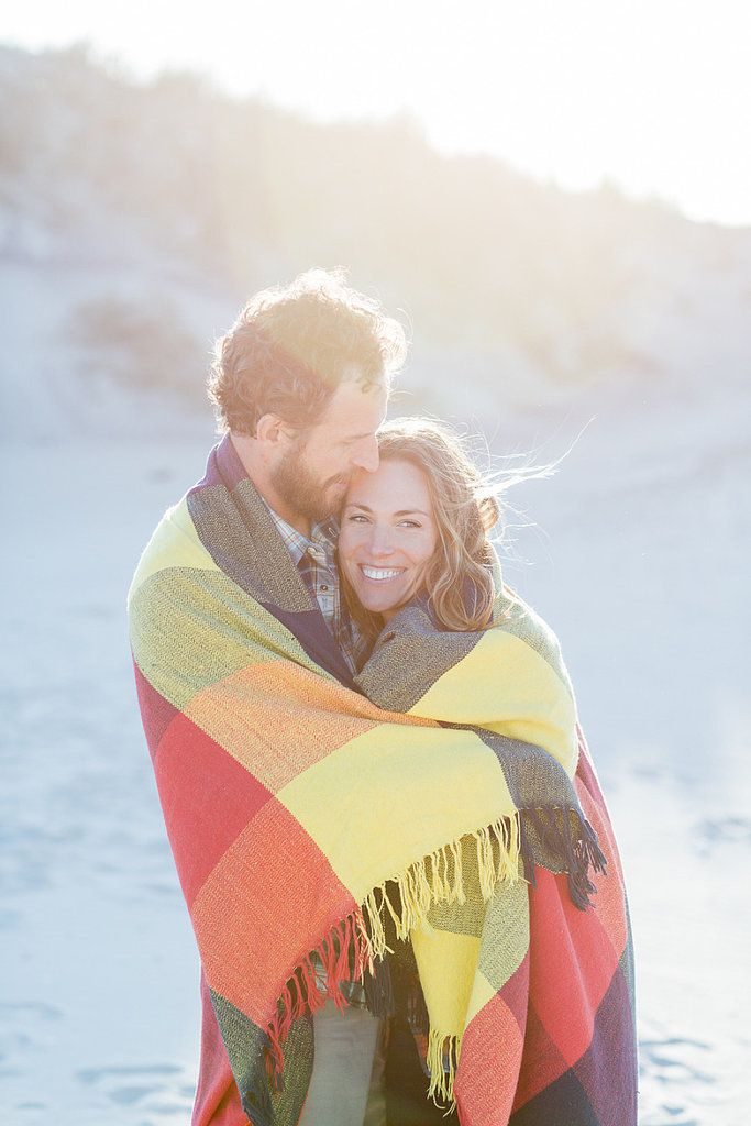 engagement session winter what to wear